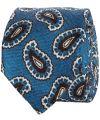 sale - Hensen stropdas - blauw - dessin