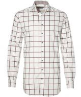 sale - Ledub overhemd - extra lang - rood