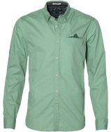 Scotch & Soda overhemd - slim fit - groen