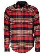 Scotch & Soda overhemd - slim fit - rood