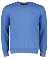 Jac Hensen pullover - extra lang - blauw