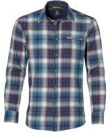 Lerros overhemd - modern fit - petrol