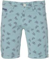 sale - Lion short - slim fit - blauw