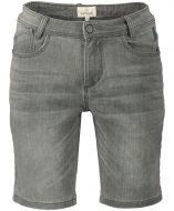 Hensen short - slim fit - grijs