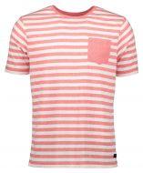Jac Hensen t-shirt - extra lang - rood
