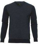 sale - Jac Hensen trui - modern fit - blauw