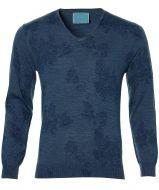 sale - British Indigo pullover - slim fit - b