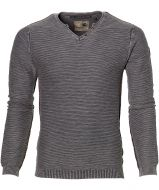 No Excess pullover - slim fit - grijs