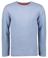 Colours & Sons pullover - reversible - blauw