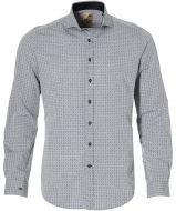 sale - Hensen overhemd - slim fit - grijs