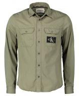 Calvin Klein overhemd - slim fit - groen