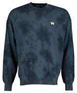 Wrangler sweater - modern fit - blauw