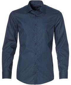 Venti overhemd - slim fit - blauw