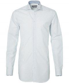 sale - LeDub overhemd - extra lang - wit