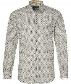 Ledub overhemd - extra lang - wit