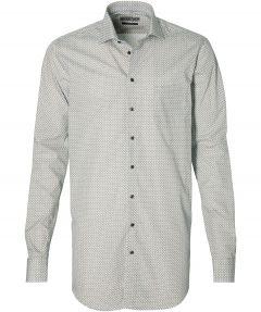 Ledub overhemd - extra lang - beige