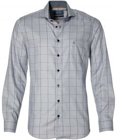 Ledub overhemd - modern fit - grijs