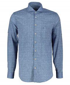 Ledub overhemd - modern fit - blauw