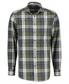 Ledub overhemd - extra lang - groen