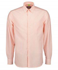 Ledûb overhemd - modern fit - oranje