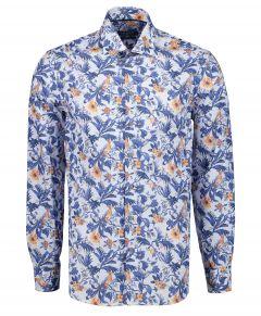 Ledûb overhemd - modern fit - zalm