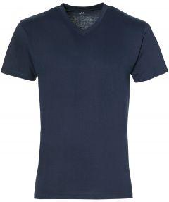 Jac Hensen T-shirt - v-hals - blauw