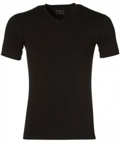 Nils T-shirt v-hals - slim fit - zwart