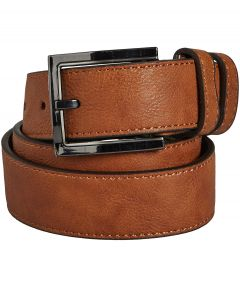 Mountain Belt leren riem - cognac