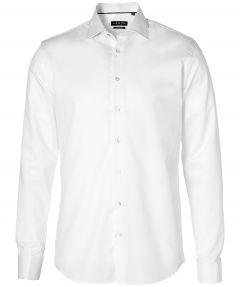 LeDub overhemd extra lange mouw - ecru