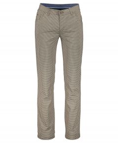 Jac Hensen broek - modern fit - bruin