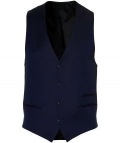 Digel trouwgilet - mix&match - blauw