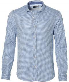 Scotch & Soda - overhemd - slim fit - blauw
