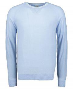 Jac Hensen pullover - slim fit - blauw