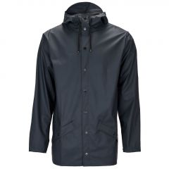 Rains regenjas - slim fit - blauw
