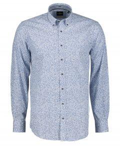 Jac Hensen overhemd - regular fit - blauw