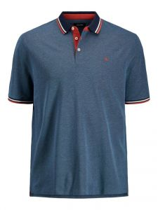 Jack & Jones polo - regular fit - blauw