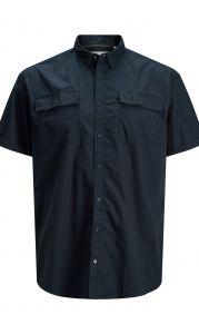 Jack & Jones overhemd - regular fit - blauw