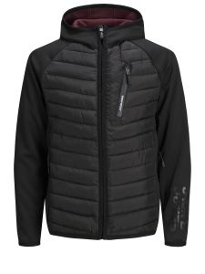 Jack & Jones vest - modern fit - zwart