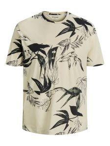 Jack & Jones t-shirt - regular fit - beige
