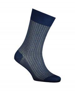 Falke sokken - Uptown Tie - blauw