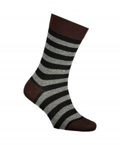 Falke sokken - Sensitive Mapped Lined - bruin