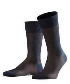 Falke sokken - fine shadow - blauw