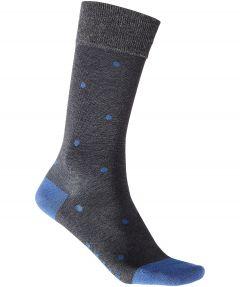 Falke sokken - Dot - grijs