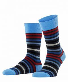 Falke sokken - Tinted Stripe - blauw