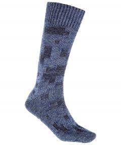 Sale - Falke sokken - Sailor denim - blauw