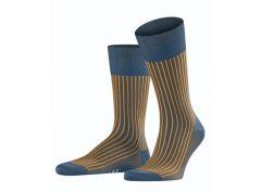Falke sokken - Oxford Stripe - blauw