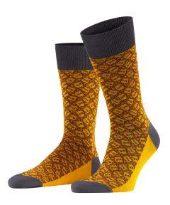 Falke sokken - sartorail eye - oker