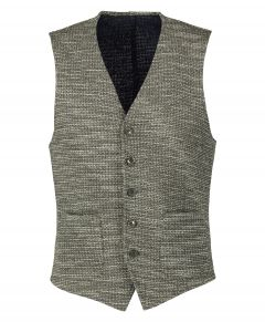 Nils gilet - slim fit - groen