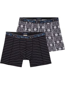Scotch & Soda boxershorts 2 pack - zwart