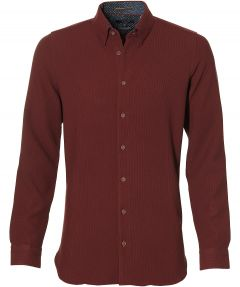 Ted Baker overhemd - extra lang - bordeaux